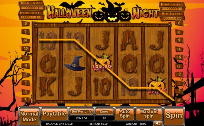 Halloween Night :: Five of a kind