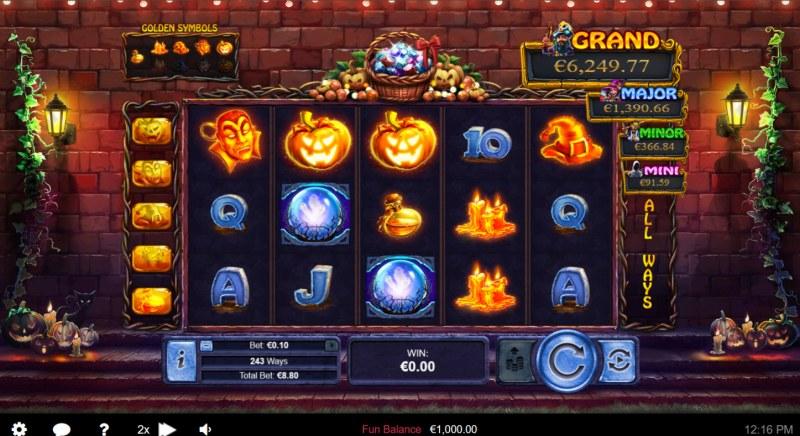 Halloween Treasures :: Main Game Board
