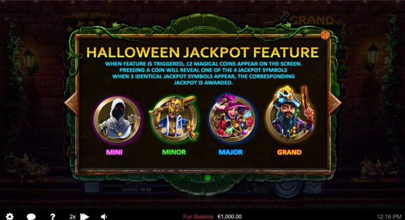 Halloween Treasures :: Halloween Jackpot Feature