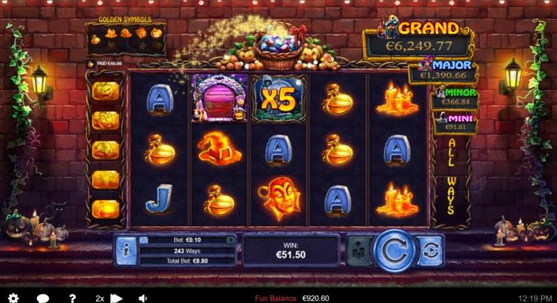 Halloween Treasures :: Multiple winning combinations