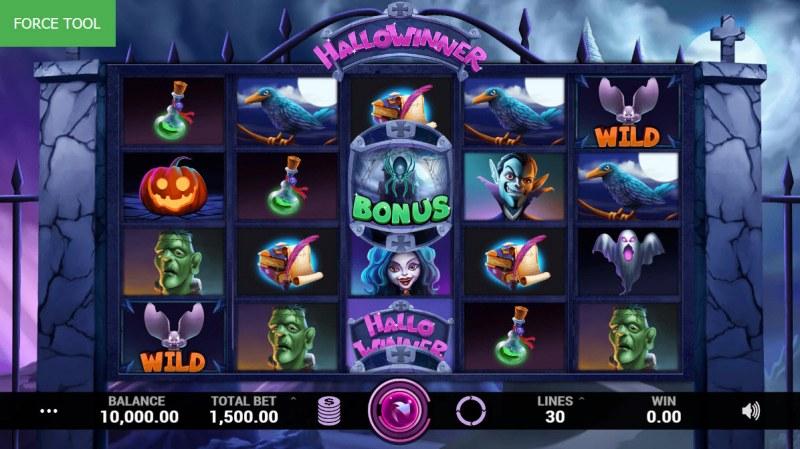 Hallowinner :: Main Game Board