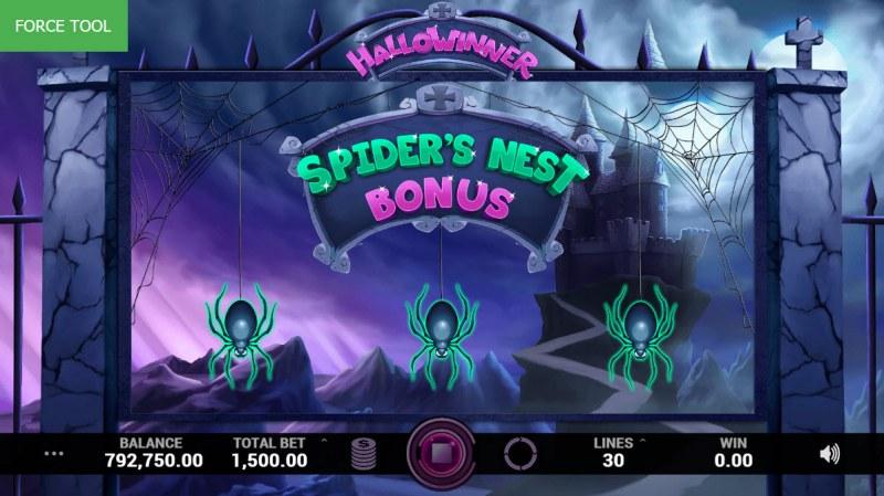 Hallowinner :: Bonus Pick Game Board