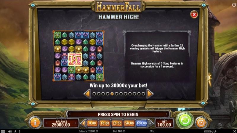 Hammer Fall :: Hammer High