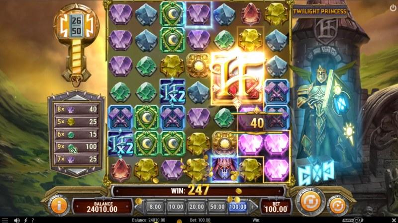 Hammer Fall :: Lightning Wild Feature