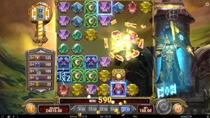 Hammer Fall :: Big Win