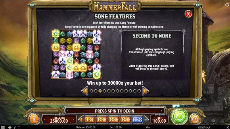 Hammer Fall :: Feature Rules
