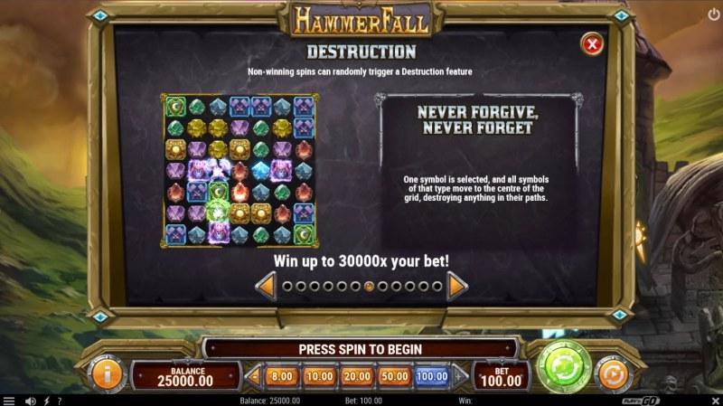 Hammer Fall :: Destruction