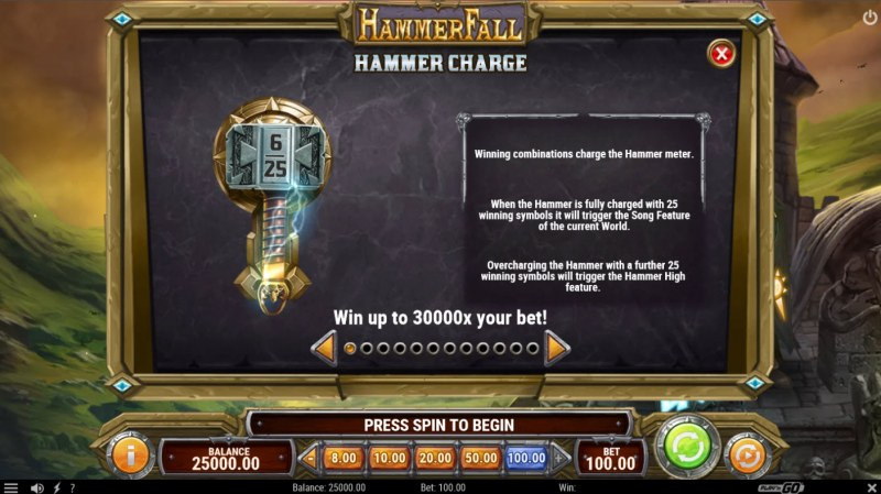 Hammer Fall :: Hammer Charge