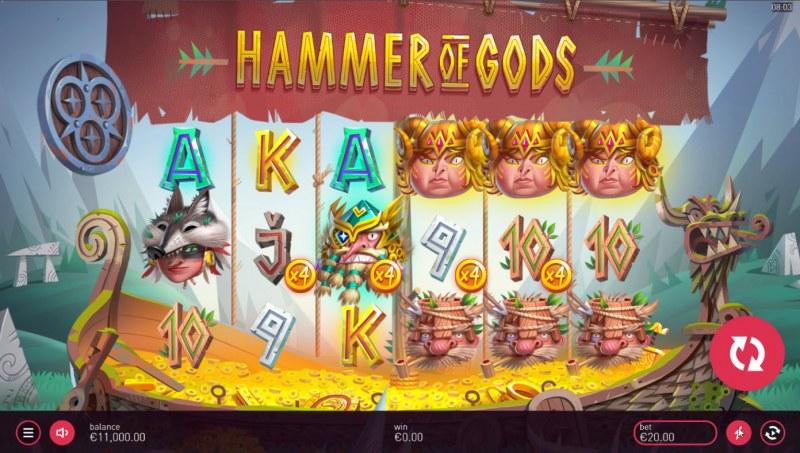 Hammer of Gods :: Base Game Screen
