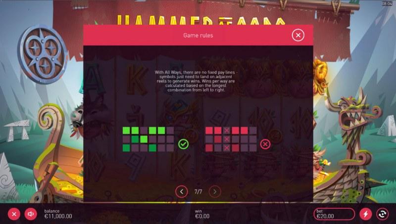 Hammer of Gods :: 729 Ways to Win