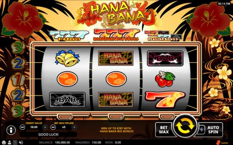 Hana Bana :: Main Game Board