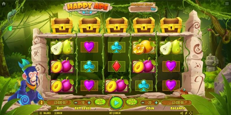Happy Ape :: Main Game Board