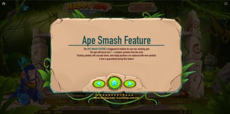Happy Ape :: Ape Smash Feature