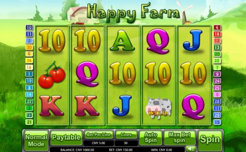 Happy Farm :: Main Game Board