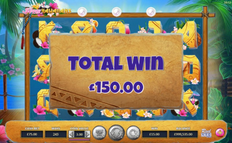 Happy Hawaiians :: Total feature payout