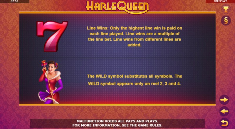 HarleQueen :: Feature Rules