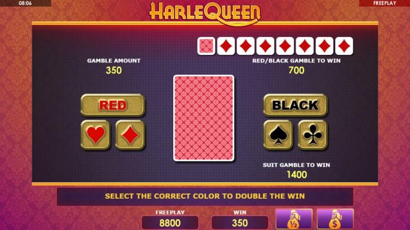 HarleQueen :: Gamble feature