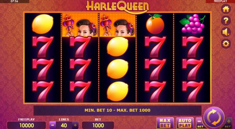 HarleQueen :: Base Game Screen