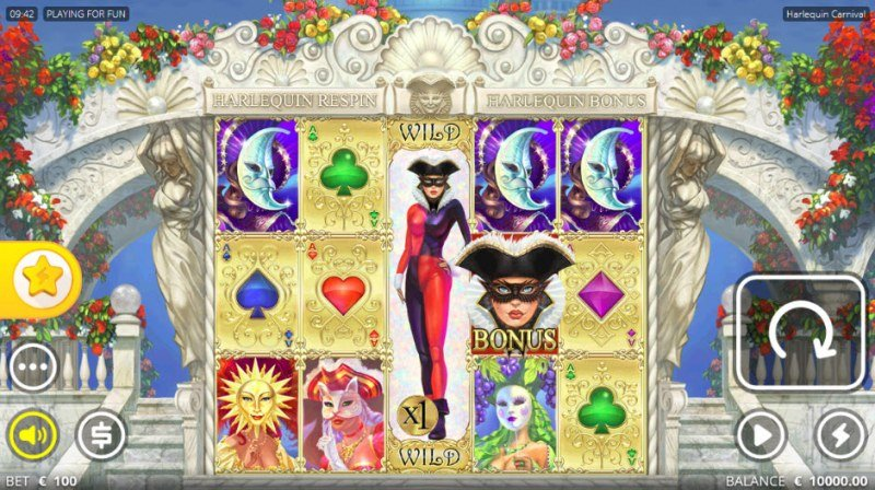 Harlequin Carnival :: Main Game Board