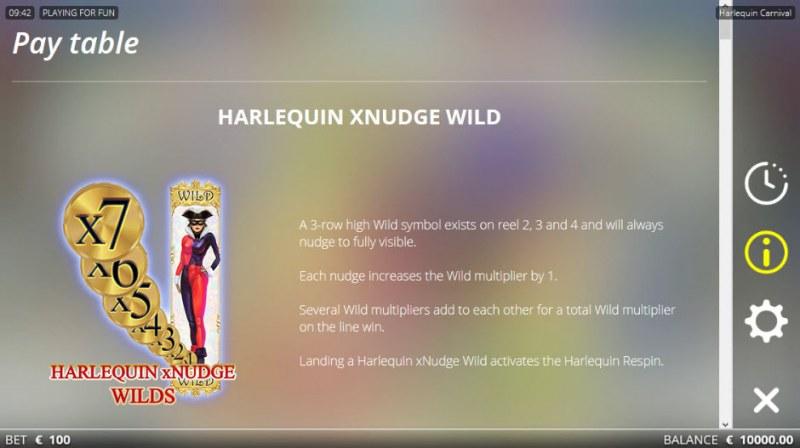 Harlequin Carnival :: Nudge Wild