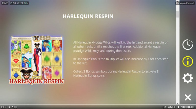 Harlequin Carnival :: Respin Rules
