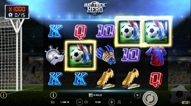 Hat Trick Hero :: Power Shot Wilds feature triggered