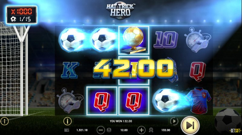 Hat Trick Hero :: A four of a kind win