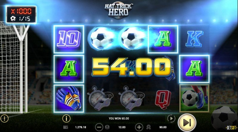 Hat Trick Hero :: A five of a kind win