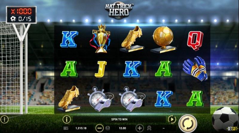 Hat Trick Hero :: Main Game Board