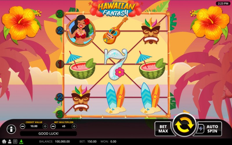 Hawaiian Fantasy :: Main Game Board
