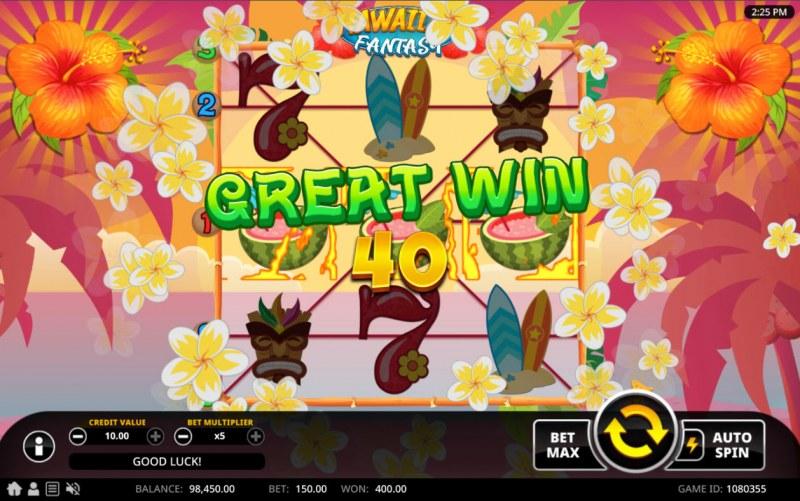 Hawaiian Fantasy :: Great Win