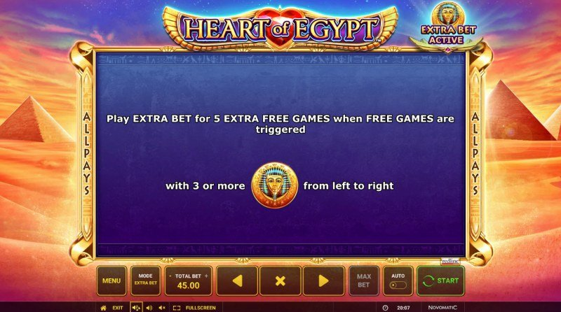 Heart of Egypt :: Feature Rules