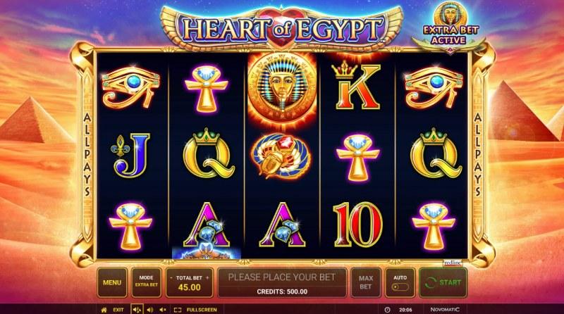 Heart of Egypt :: Main Game Board