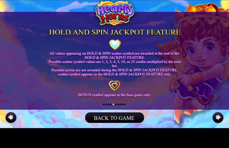 Hearts & Horns :: Jackpot Rules