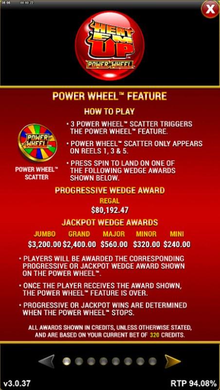 Heat 'Em Up Power Wheel :: Power Wheel Feature