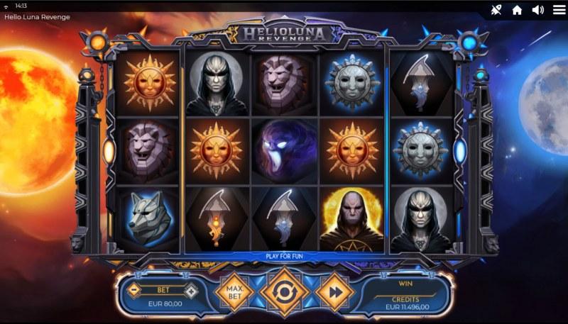 Helio Luna Revenge :: Base Game Screen