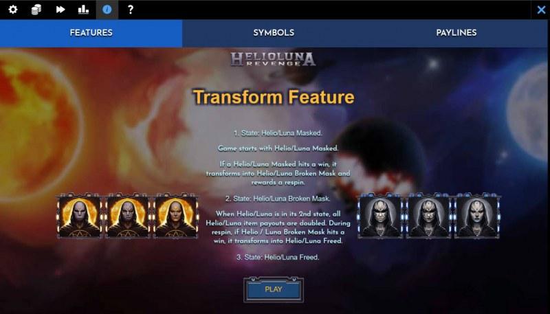 Helio Luna Revenge :: Transform Feature