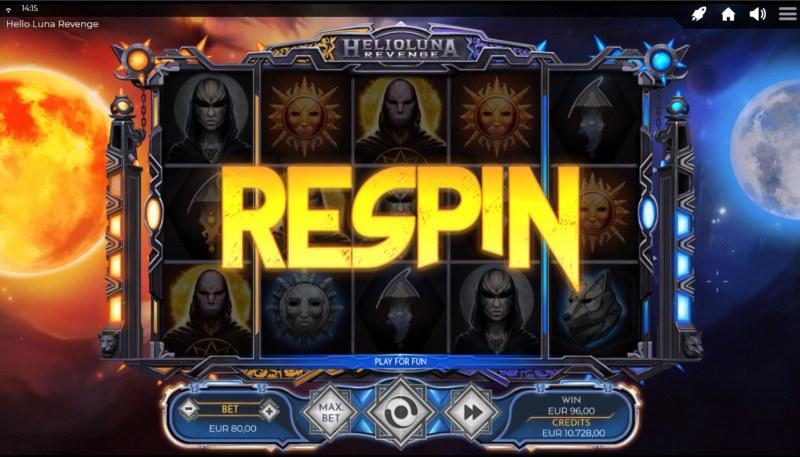 Helio Luna Revenge :: Respin activated