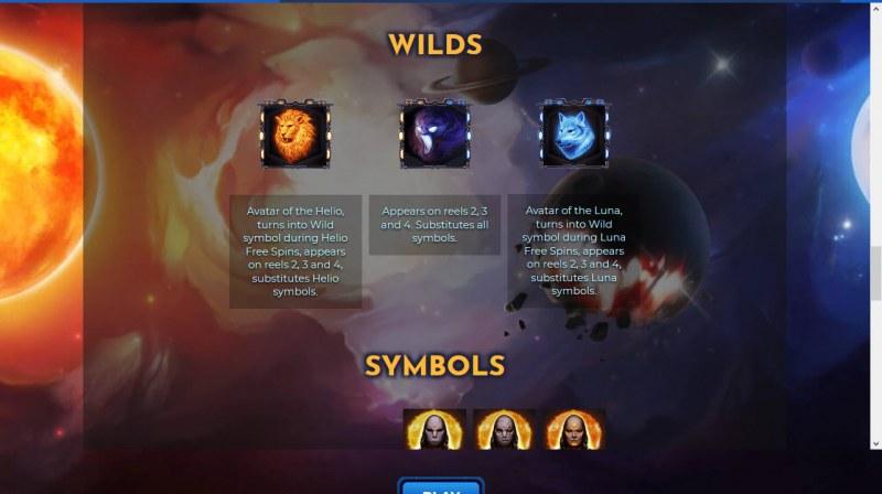 Helio Luna :: Wild Symbols Rules