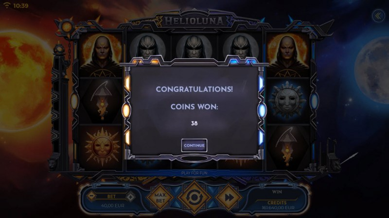 Helio Luna :: Total free spins payout