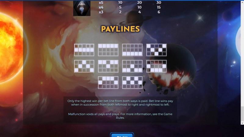 Helio Luna :: Paylines 1-10