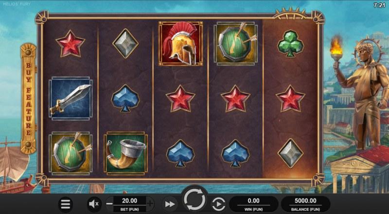 Helios' Fury :: Base Game Screen
