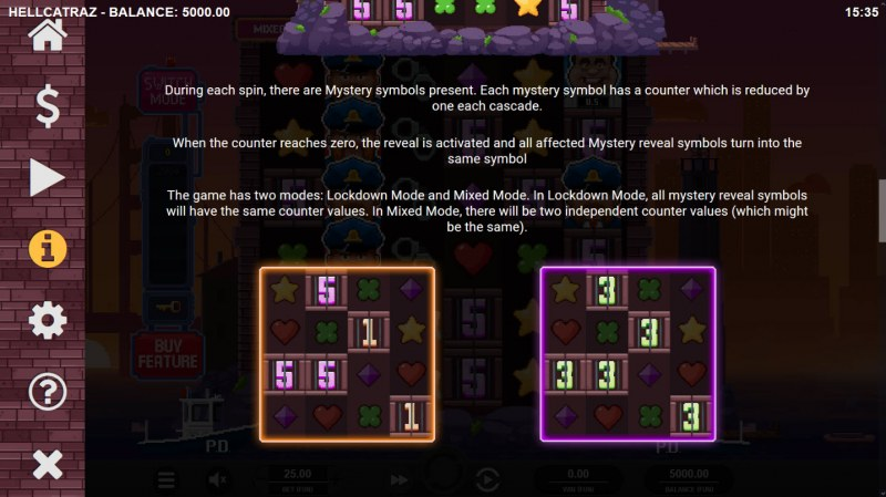 Hellcatraz :: Mystery Reveal Feature