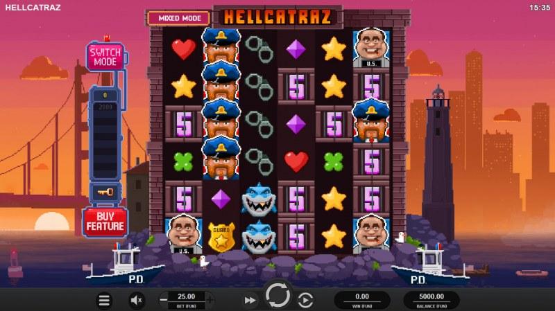 Hellcatraz :: Main Game Board