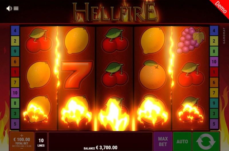 Hellfire :: Wild feature triggered