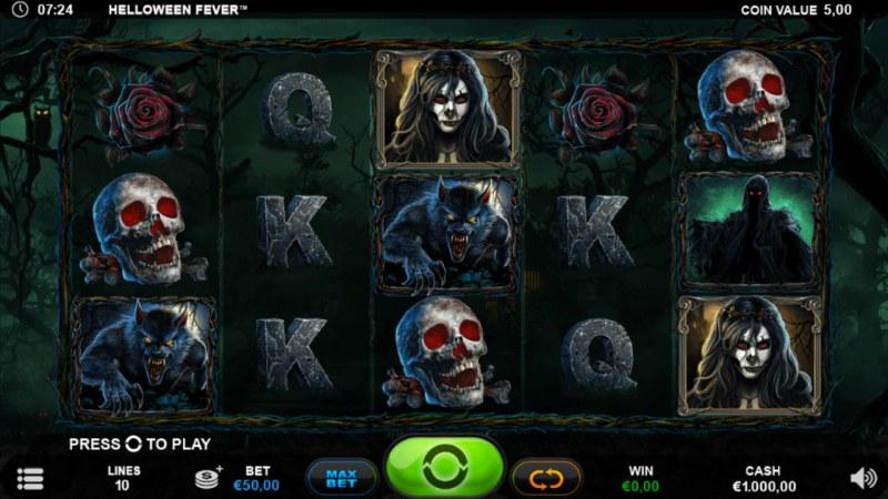 Helloween Fever :: Main Game Board