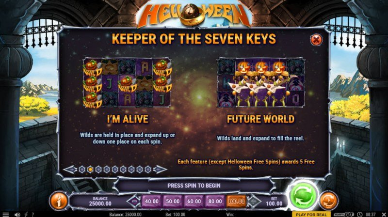 Helloween :: Feature Rules
