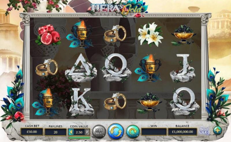 Hera's Gold :: Main Game Board