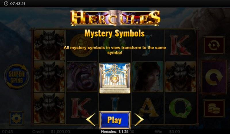 Hercules :: Mystery Symbol