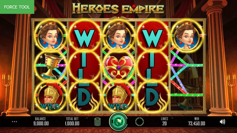 Heroes Empire :: Multiple winning combinations leads to a super win